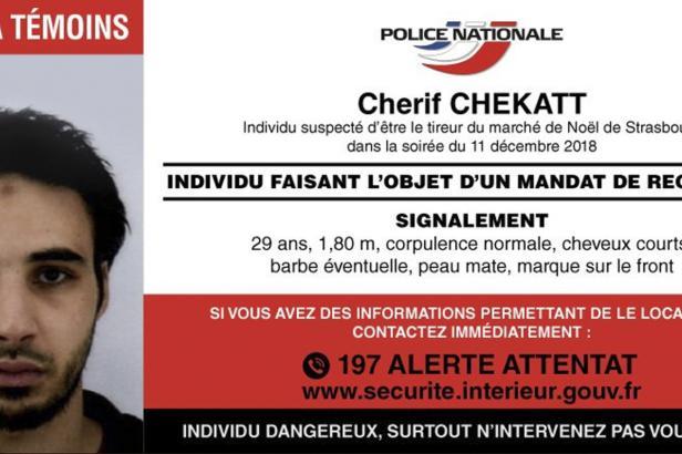 Francouzská policie zastřelila podezřelého z útoku ve Štrasburku