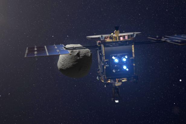 Japonská sonda Hajabusa úspěšně odebrala vzorky z asteroidu Ryugu
