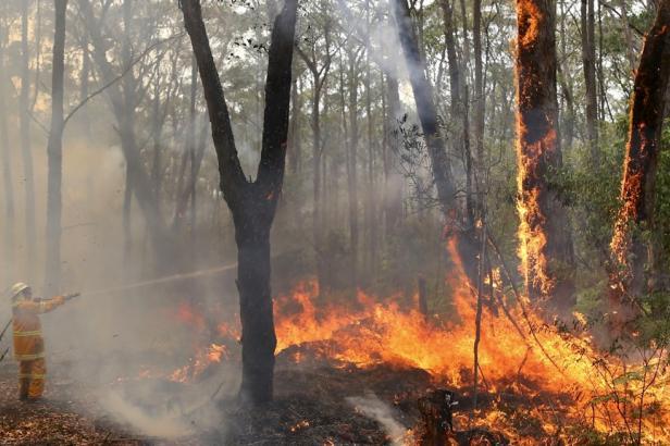 """Hoří na jihovýchodě Austrálie. V zimním období jsou u """"protinožců"""" požáry neobvyklé"""