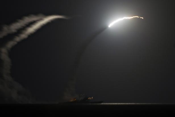 Americký útok na cíle v Sýrii