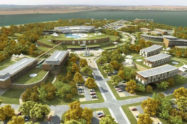 Čínské lázně v Pasohlávkách mají zelenou. Kraj schválil prodej pozemků