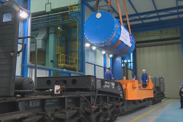 Z Plzně do Temelína. Nové kontejnery na vyhořelé palivo čekají náročné testy