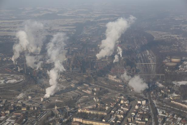 Limity prachu v ovzduší jsou ve většině kraje překročeny dvojnásobně. Nejhůř se dýchá v Třinci