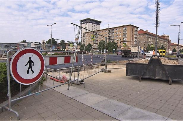 Řidiče v centru Havířova zdrží oprava asfaltu a výměna semaforů