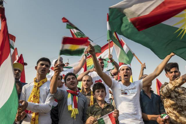 Stoupenci kurdské nezávislosti