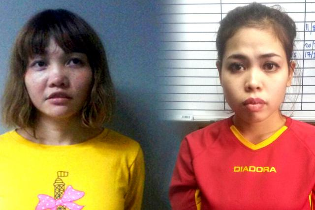 Vietnamka Doan Thi Huong a Indonésanka Siti Aisyahová podezřelé z vraždy Kim Čong-nama