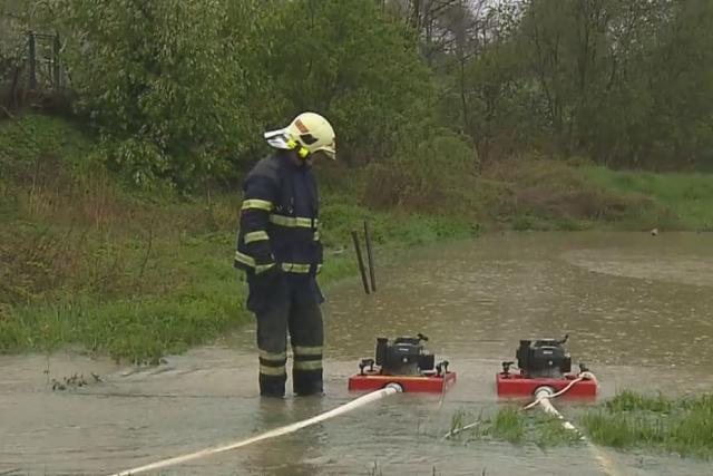 Vydatný déšť zvedá hladiny řek v MS kraji