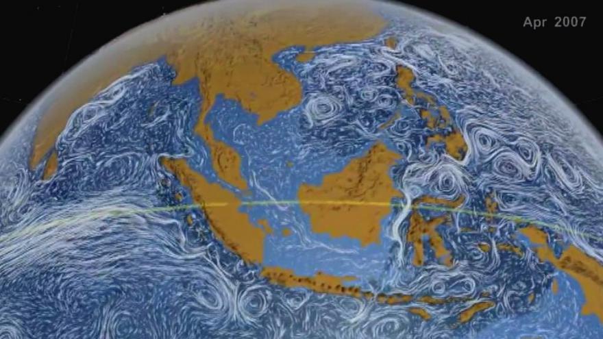 Video Animace z dílny NASA: Pohyb oceánských proudů