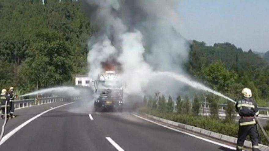 Video Požáry sužují USA i Čínu