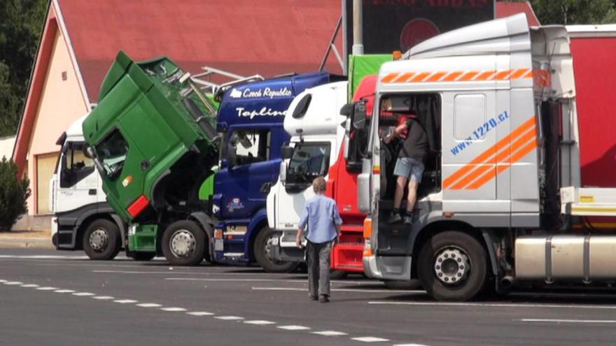 Video Velké Meziříčí už projíždějící kamiony netrápí