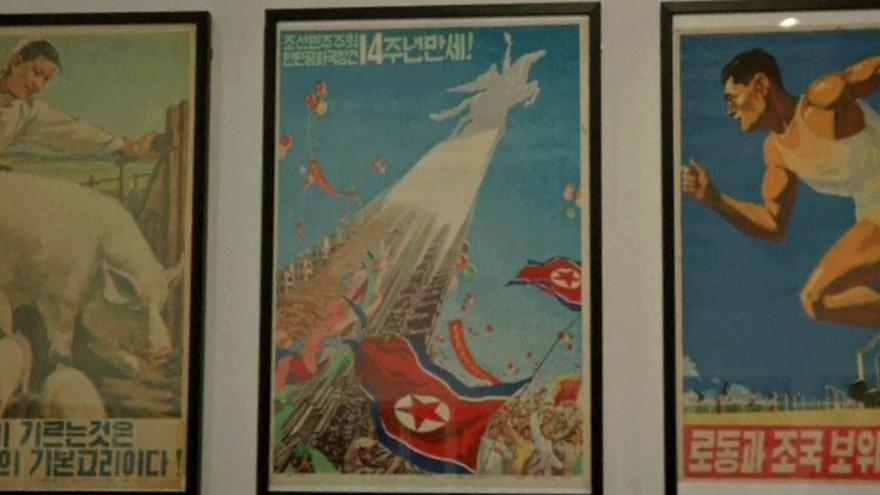 Video Výstava umění KLDR v Soulu