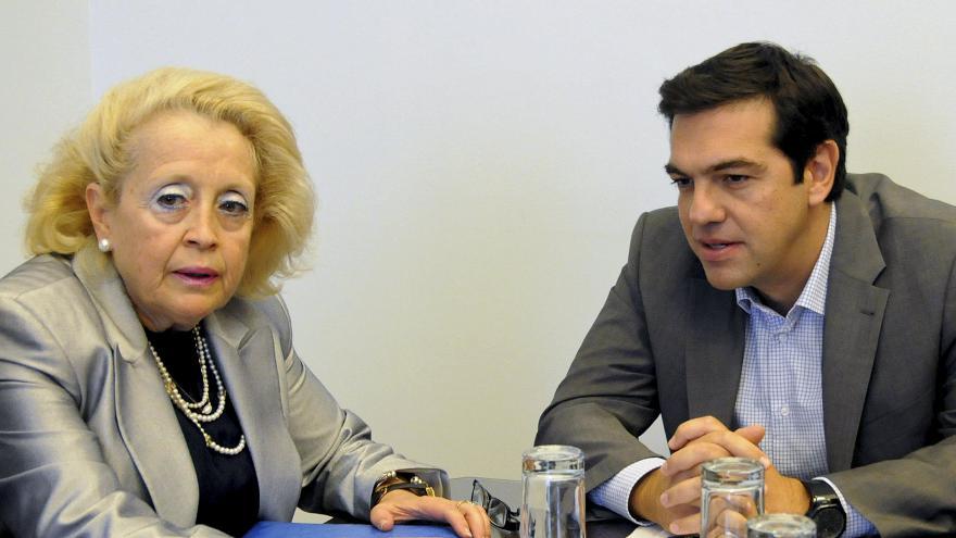 Video Šéfka nejvyššího soudu řeckou premiérkou