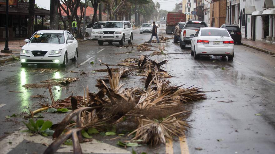 Video Tropická bouře Erika zpustošila ostrov Dominika