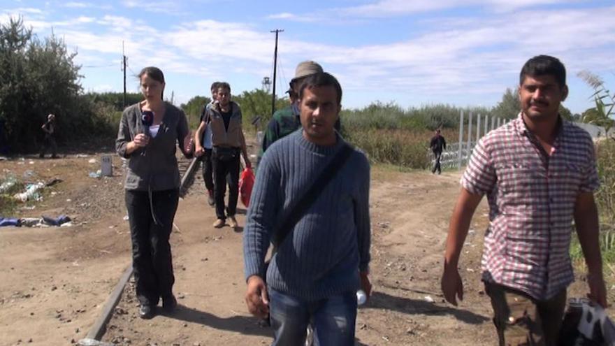 Video Štáb ČT mezi uprchlíky na srbsko-maďarské hranici