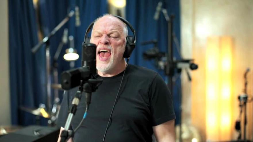 Video David Gilmour vydává nové album