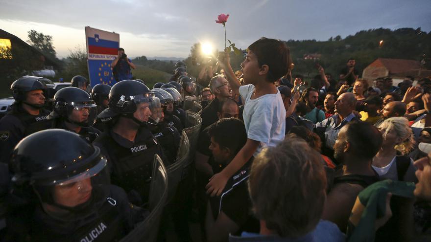Video Redaktorka ČT o situaci v táborech v Chorvatsku