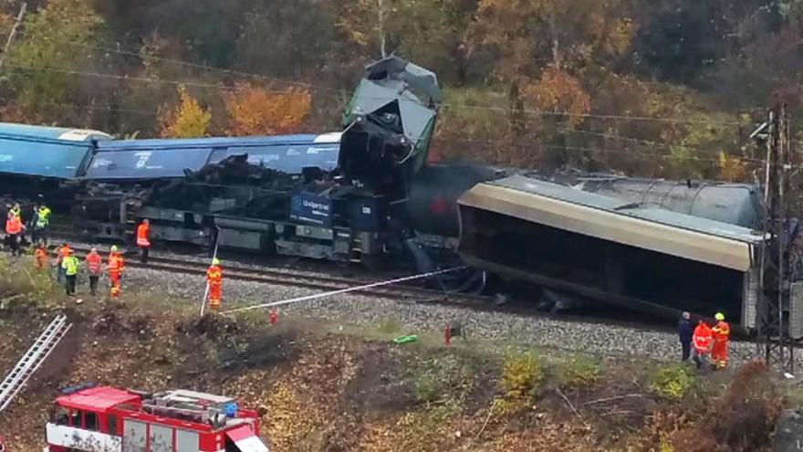 Video Bez komentáře: Srážka vlaků na Teplicku