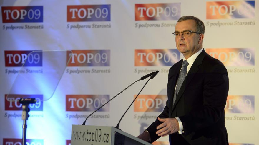 Video ŽIVĚ: Sněm TOP 09 volí nové vedení