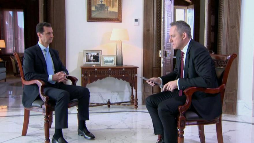 Asad pro ČT: Rebelové jsou jako žoldáci, většina plní zájmy jiných