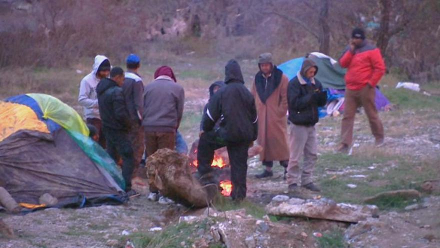 Video Události: Uprchlíci v pasti na řecko-makedonské hranici