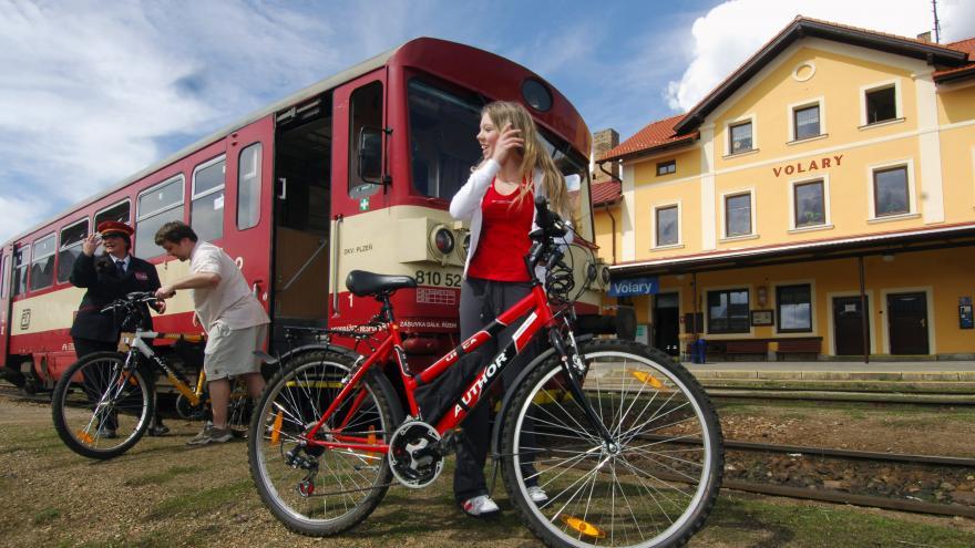 Video Na cyklovýlet vlakem