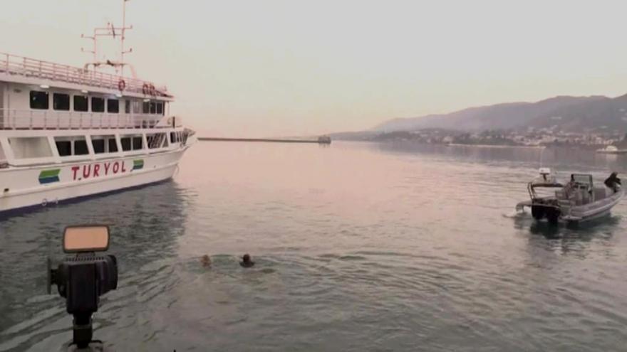 Video Deportace migrantů z řeckého Lesbu doprovázely protesty