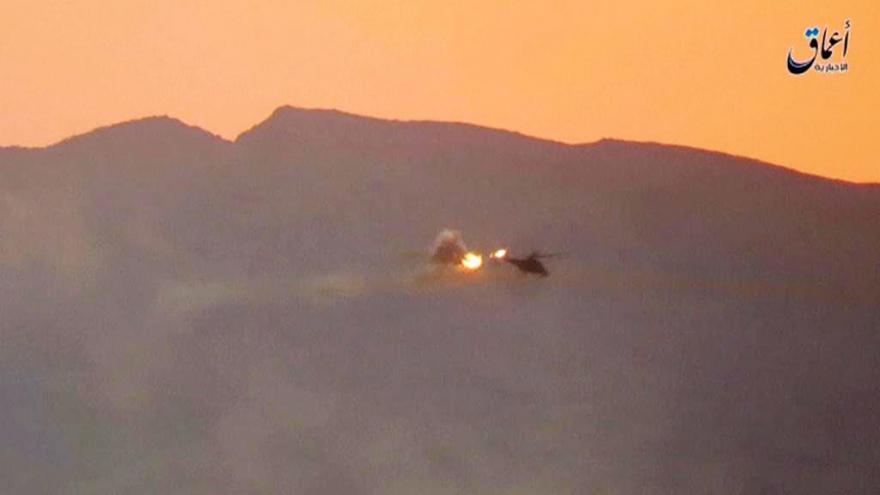 Video Islamisté sestřelili v Sýrii vrtulník s ruskými vojáky