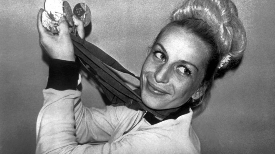 Video Věra Čáslavská by oslavila 75. narozeniny