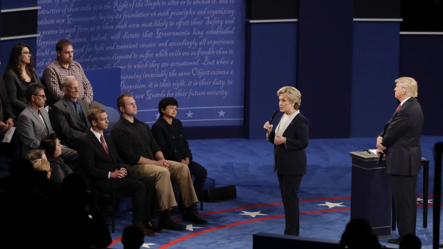 Video Mimořádné pořady ČT24 - 2. společná debata Clintonová – Trump