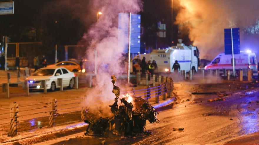 Video Exploze v Istanbulu