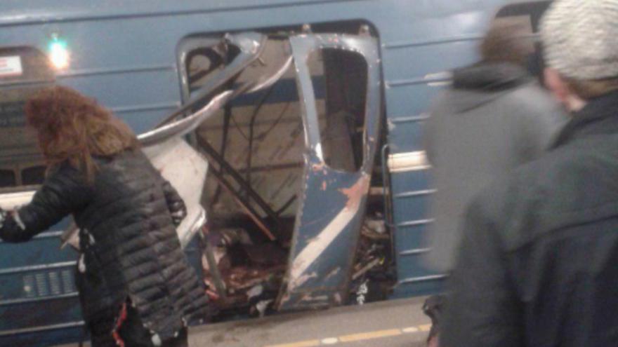 Video Mimořádné pořady ČT24 - Útok v Petrohradu