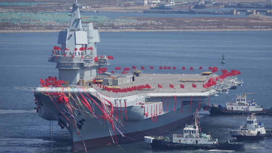 Video Letadlová loď v Číně