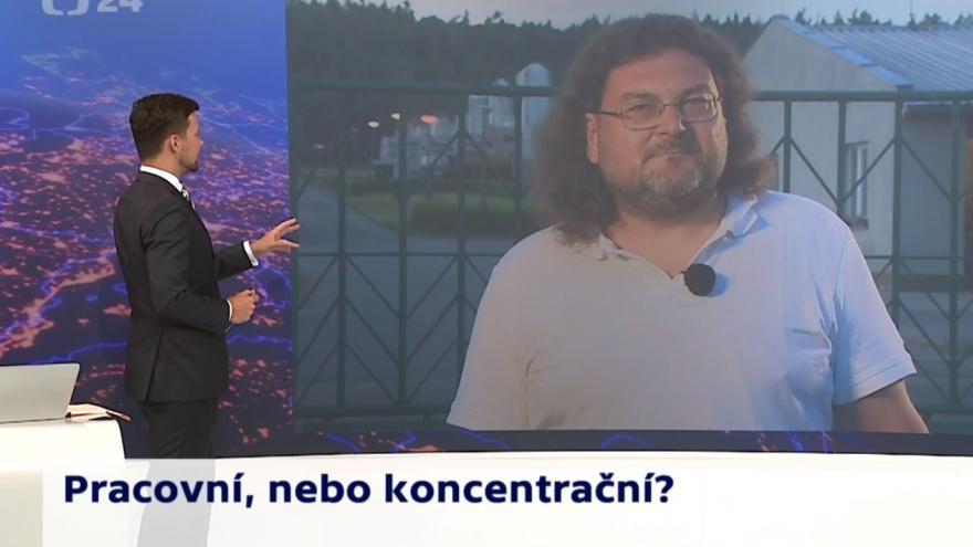 Video 90' ČT24 - Památník v Letech