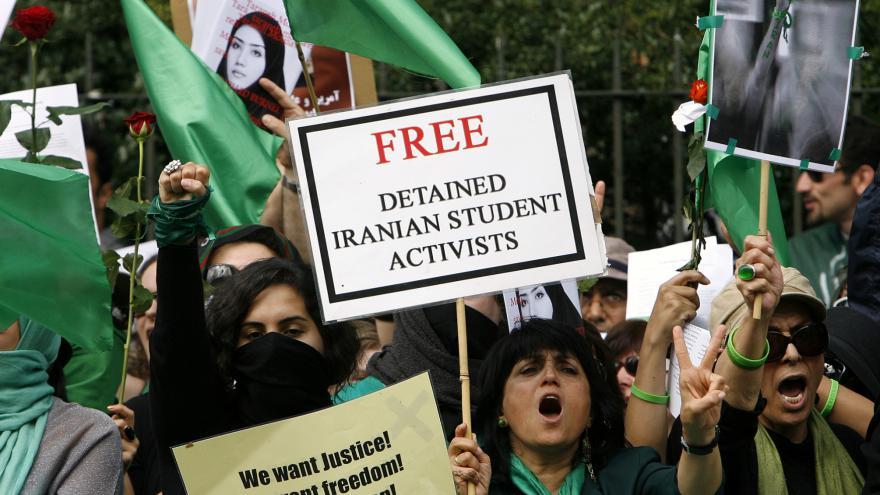 Video Pařízková z Amnesty k zatýkání aktivistů v Íránu