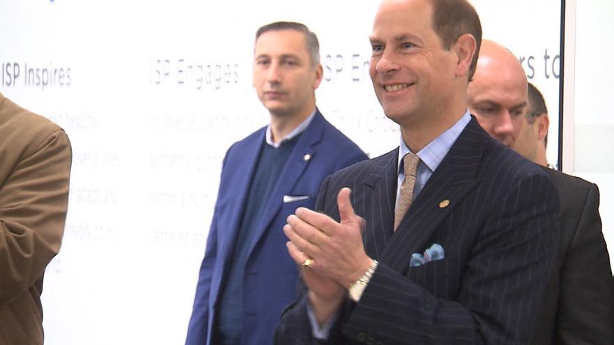 Video Vědecké interview s princem Edwardem