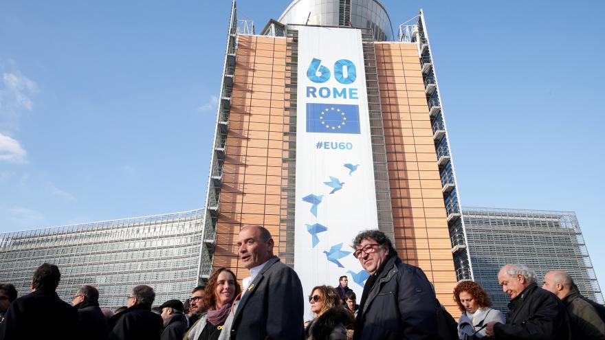 Video Katalánští starostové se vydali do Bruselu
