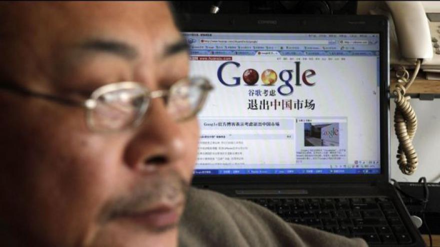 Video Další zásah Číny proti Googlu