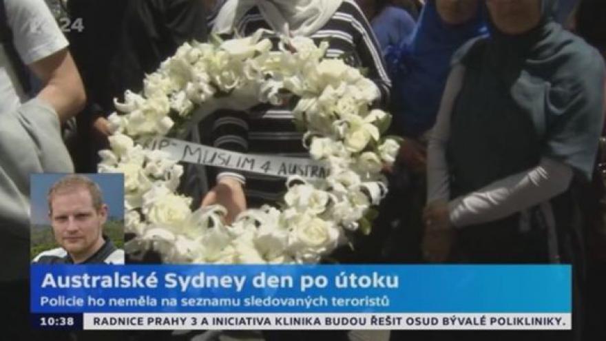 Video Filip Koubek k situaci v Sydney: Množí se spekulace, proč policie náhle zasáhla