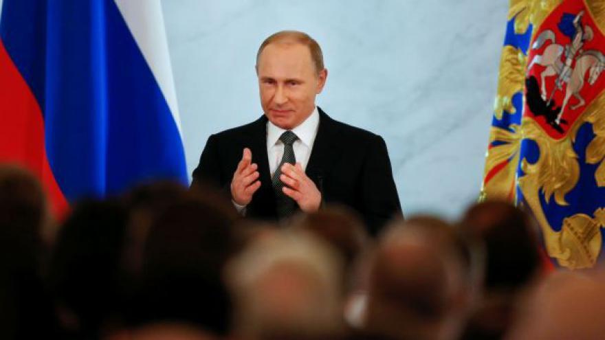 Video Putin pronesl projev o stavu Ruské federace
