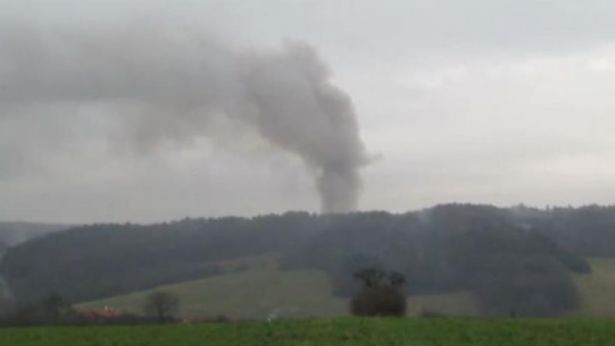 Video Výbuch skladu ve Vrběticích (zdroj pan Vincour ze Slavičína)