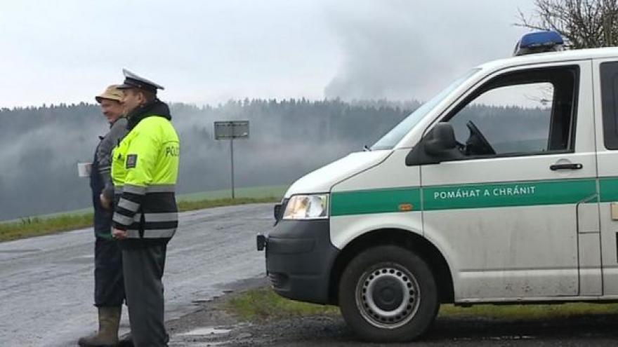 Video Dopoledne ve Vrběticích znovu zněly exploze