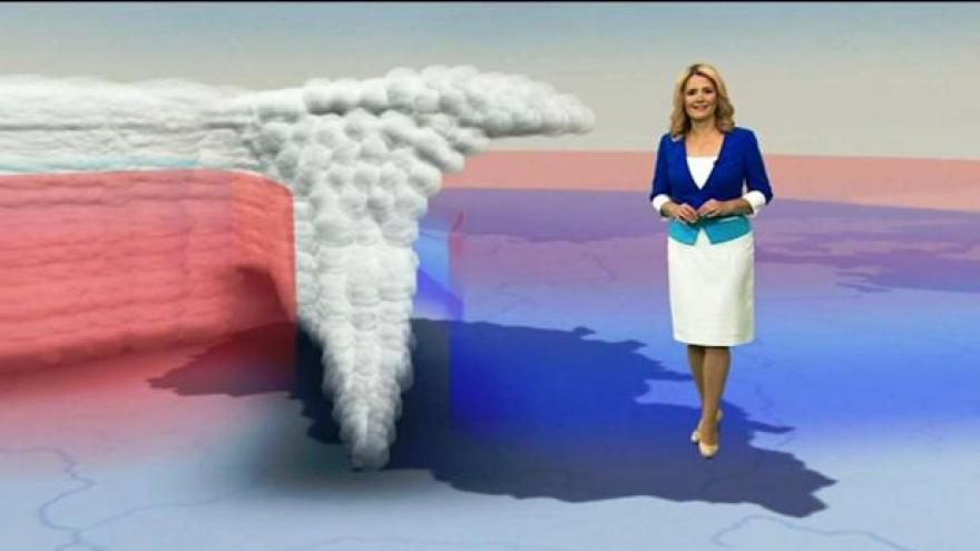 Video Model od meteorologů ČT: Tlaková níže Xandra
