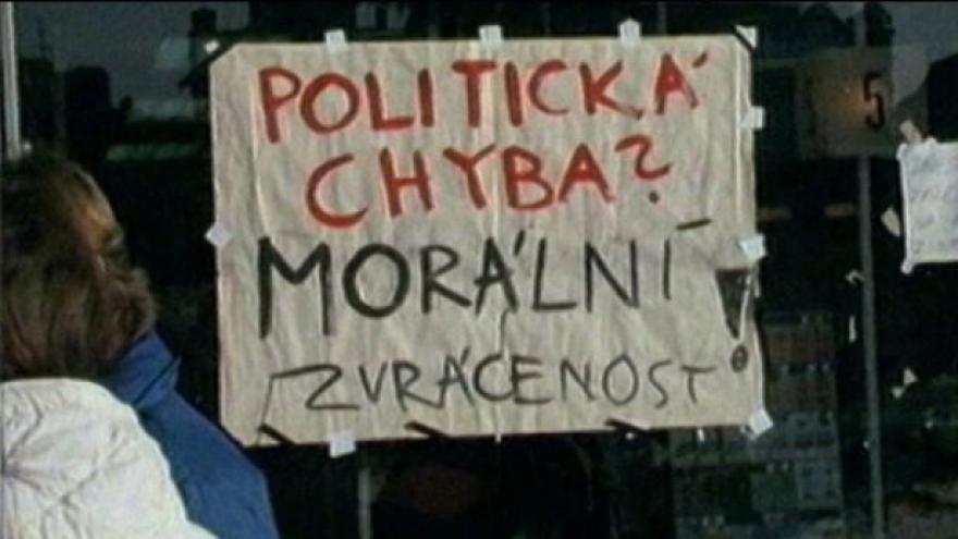 Video Revoluce v Ostravě začala až 20. listopadu