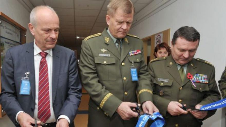 Video Středisko NATO se ve Vyškově rozšířilo