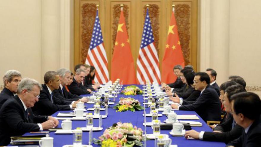 Video Barbora Šámalová k Obamově návštěvě v Číně
