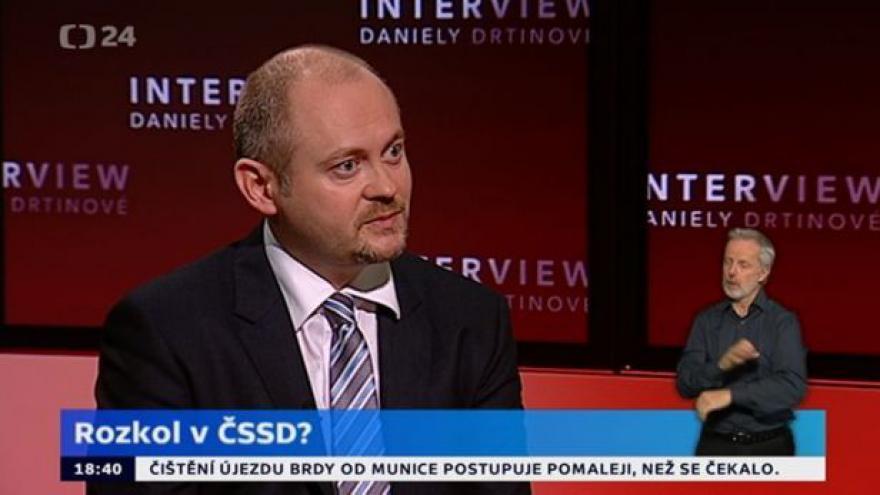 Video Michal Hašek popírá v IDD lánské jednání