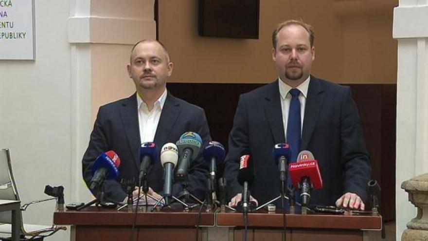 Video Rezignace Michala Haška a Jeronýma Tejce