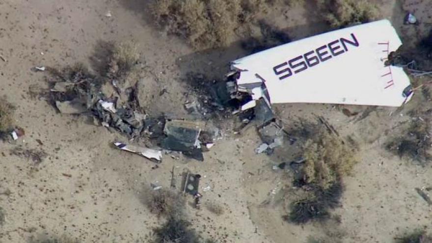 Video Tragická nehoda vesmírné lodi SpaceShip Two