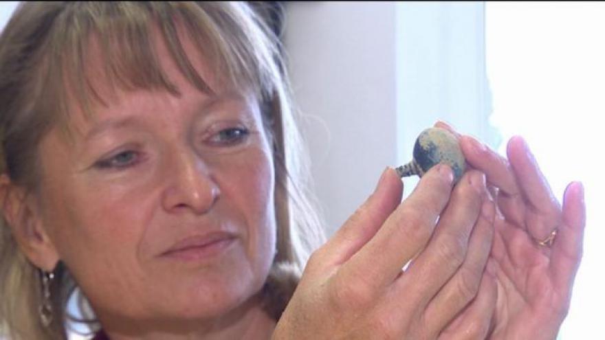 Video Rozhovor s archeoložkou o nálezu pokladu