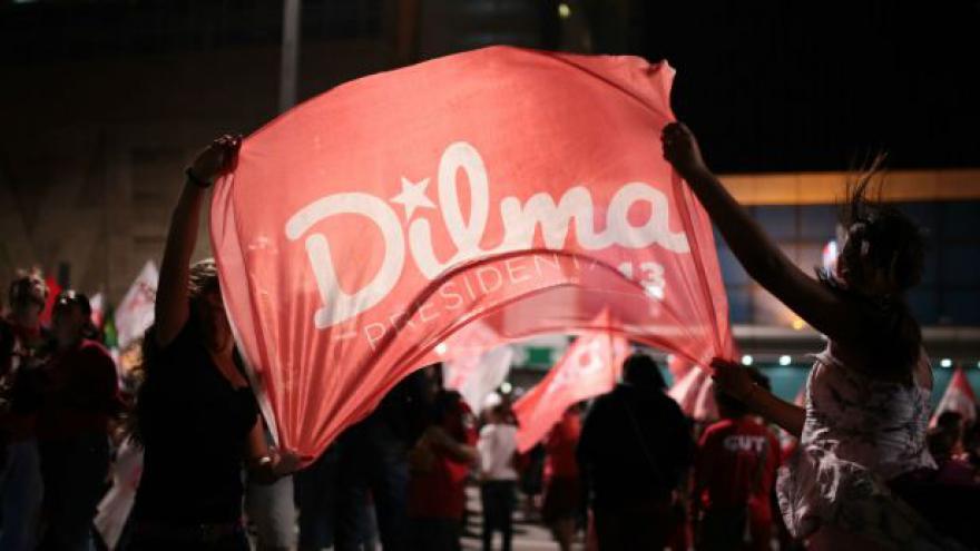 Video Horizont ČT24: Rousseffová zůstává prezidentkou Brazílie